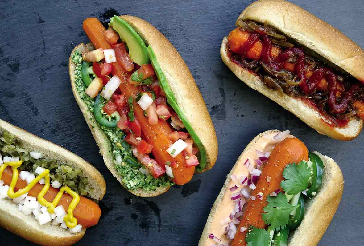 These Vegan Chorizo Hot Dogs are bound to satisfy even die-hard carnivores! They're: full of flavour secretly healthy super easy to make! These Vegan Chorizo Hot Dogs were inspired by these Gluten-Free Vegan Sausage Rolls - they're made using protein- and fibre-rich kidney beans, and packed full of delicious herbs, spices and seasonings. I've.