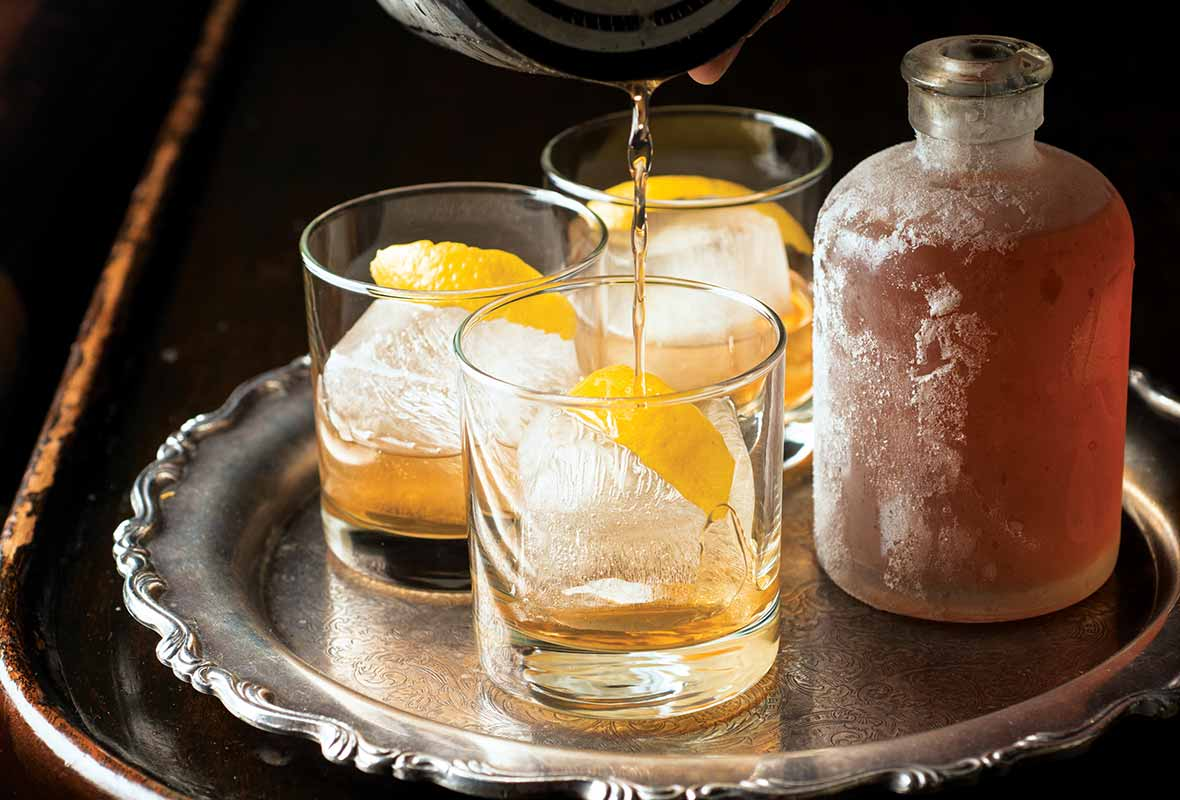 Perfect Rye Old Fashioned