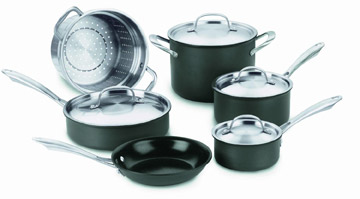 Cuisinart Green Gourmet Cookware Set