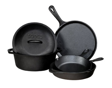 Lodge Logic 5-Piece Cookware Set