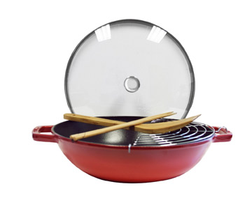 Staub Cast-Iron Perfect Pan