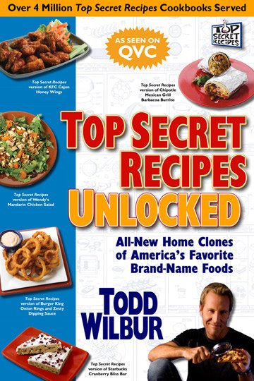 Buy the Top Secret Recipes Unlocked cookbook