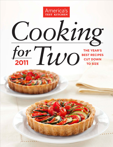 America's Test Kitchen Cooking for Two Cookbook