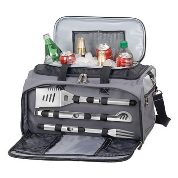 Picnic Time Buccaneer Grill and Cooker Set
