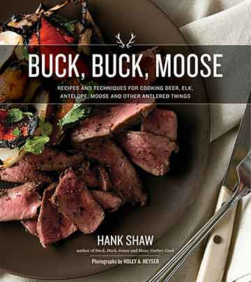 Buy the Buck, Buck, Moose cookbook