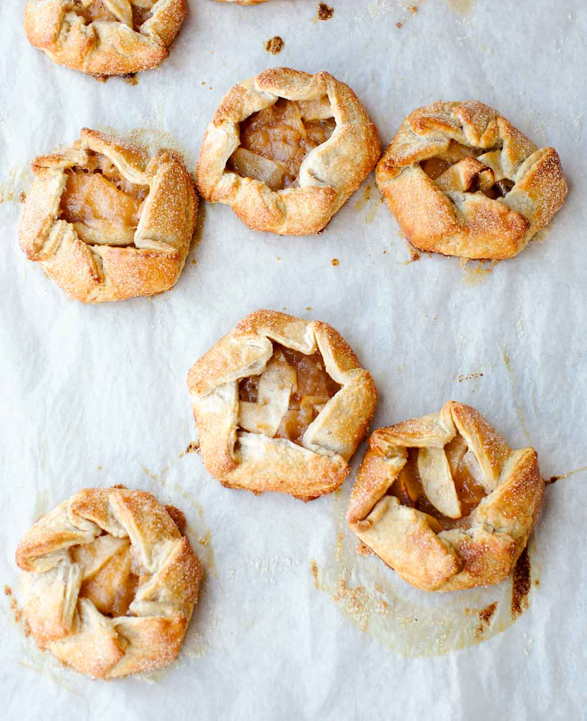 Rosemary Apple Hand Tarts