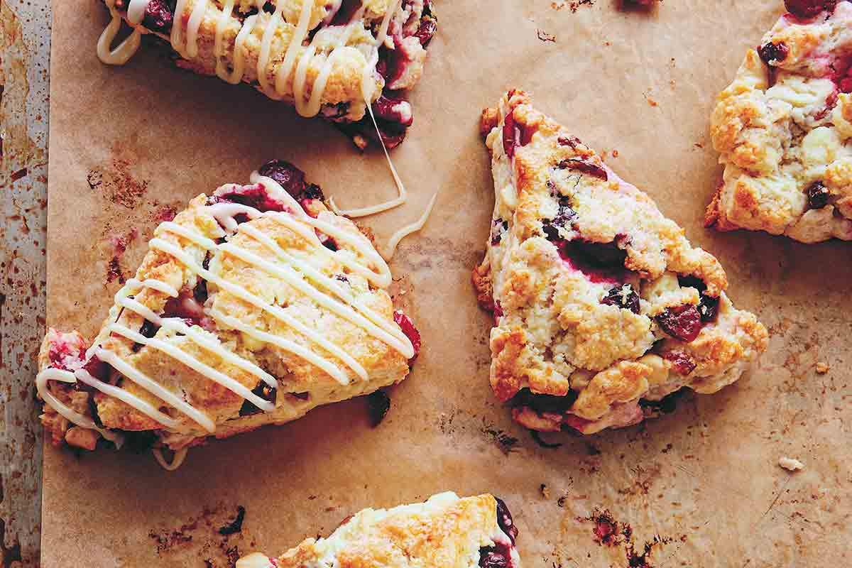 Cranberry Scones Recipe  Leite's Culinaria