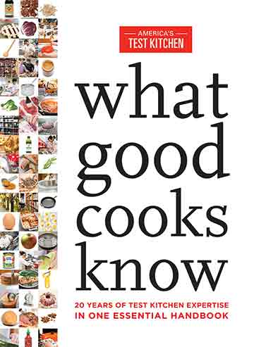 Buy the What Good Cooks Know cookbook