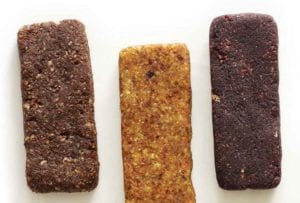 Three homemade Larabars