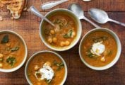 Tomato-Chickpea Soup Recipe