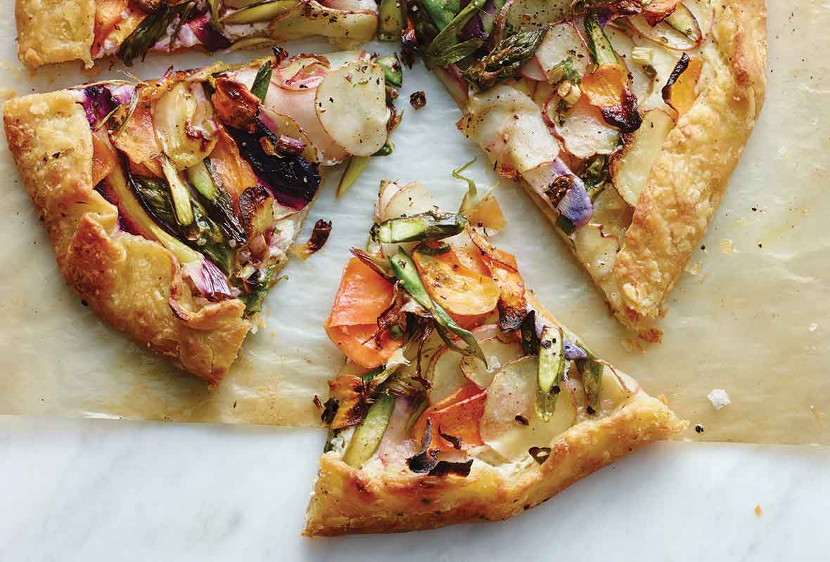 Food And Wine Vegetable Galette Recipes
