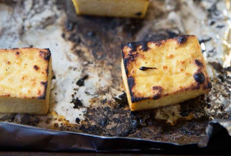 Broiled Tofu