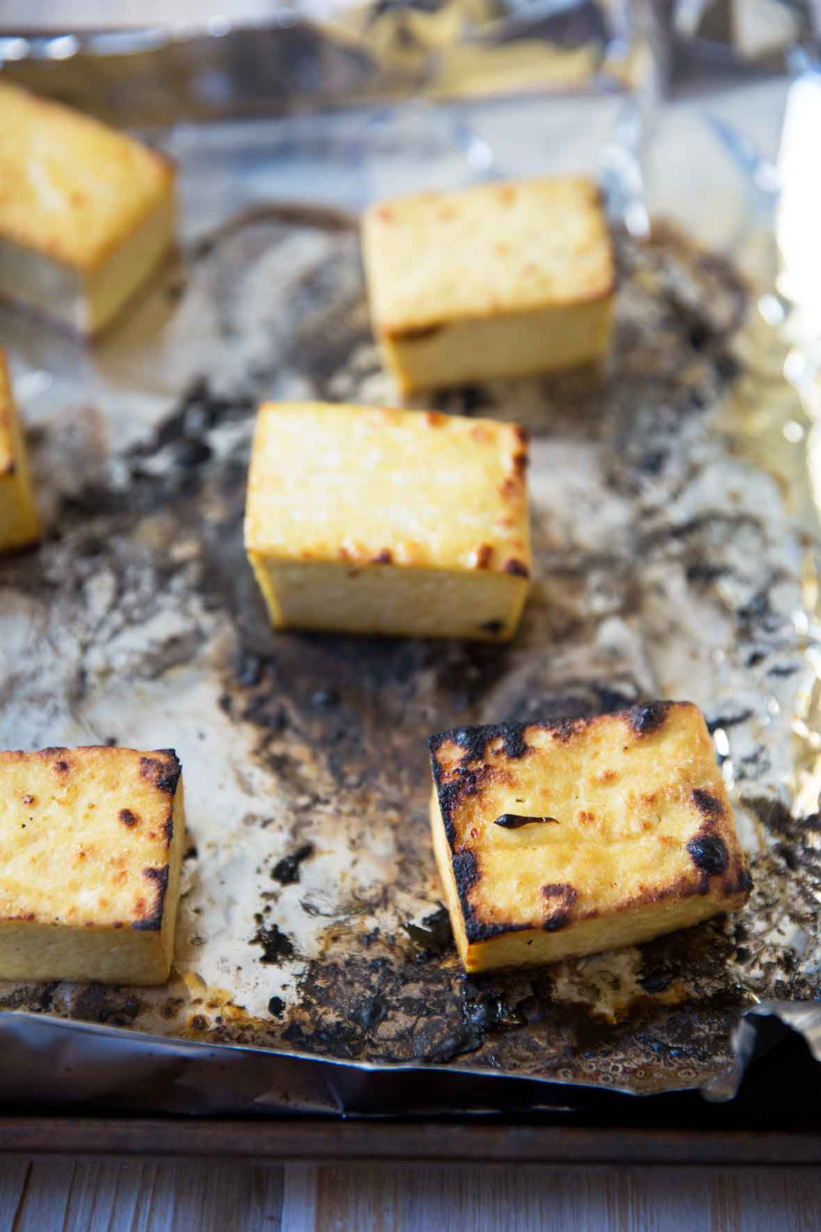 Broiled Tofu