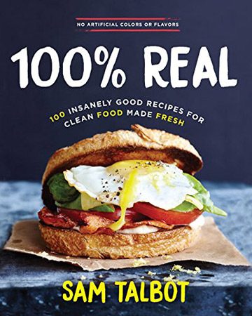 Buy the 100% Real cookbook