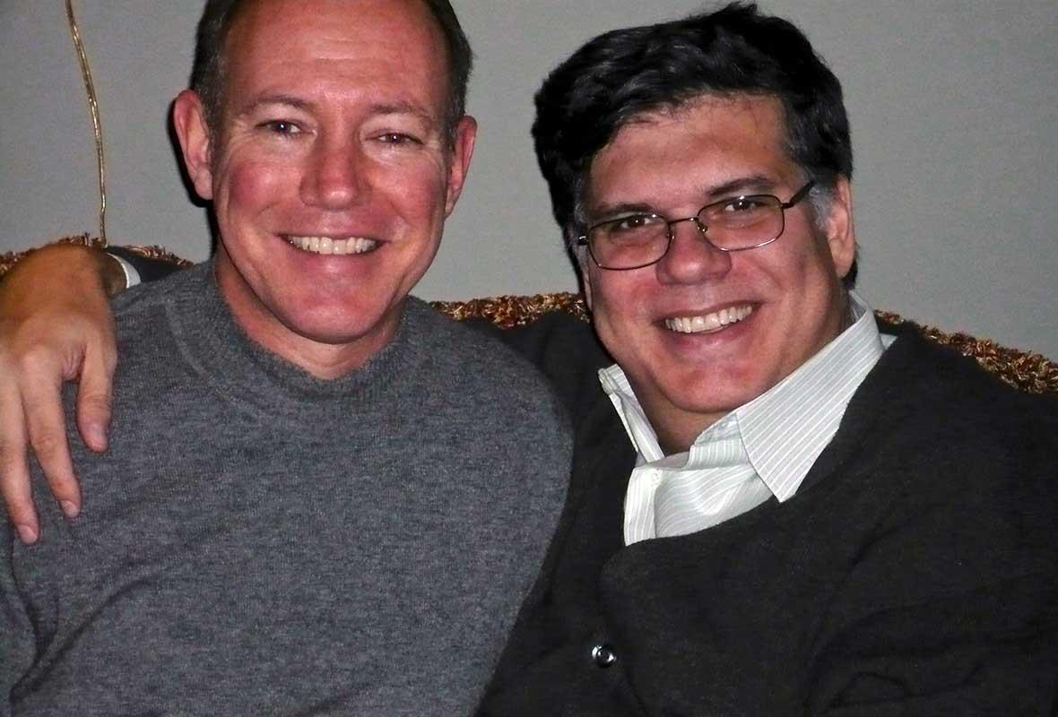 Alan and David, 1993