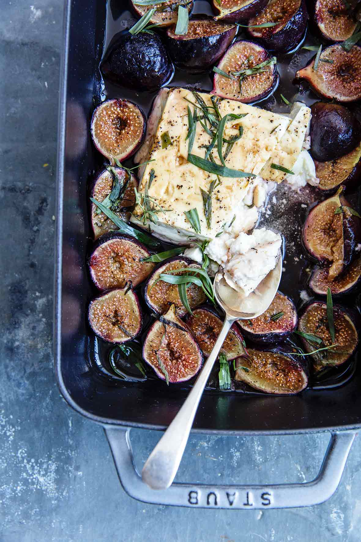 Baked Feta and Figs