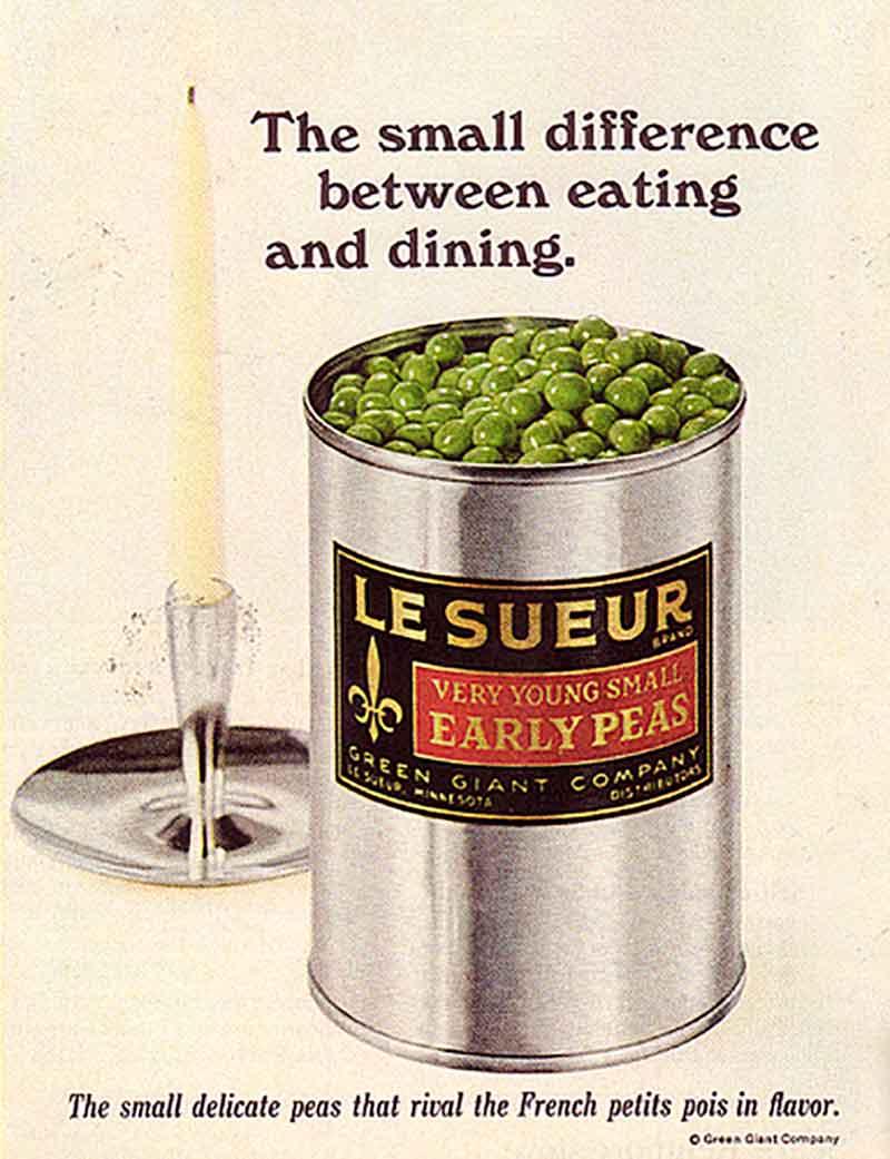 Le Sueur Peas