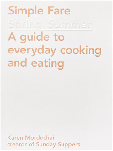 Simple Fare Spring/Summer Cookbook