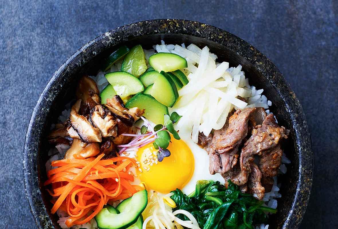 Korean Food Bibimbap Recipe