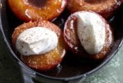 Baked Nectarines with Port
