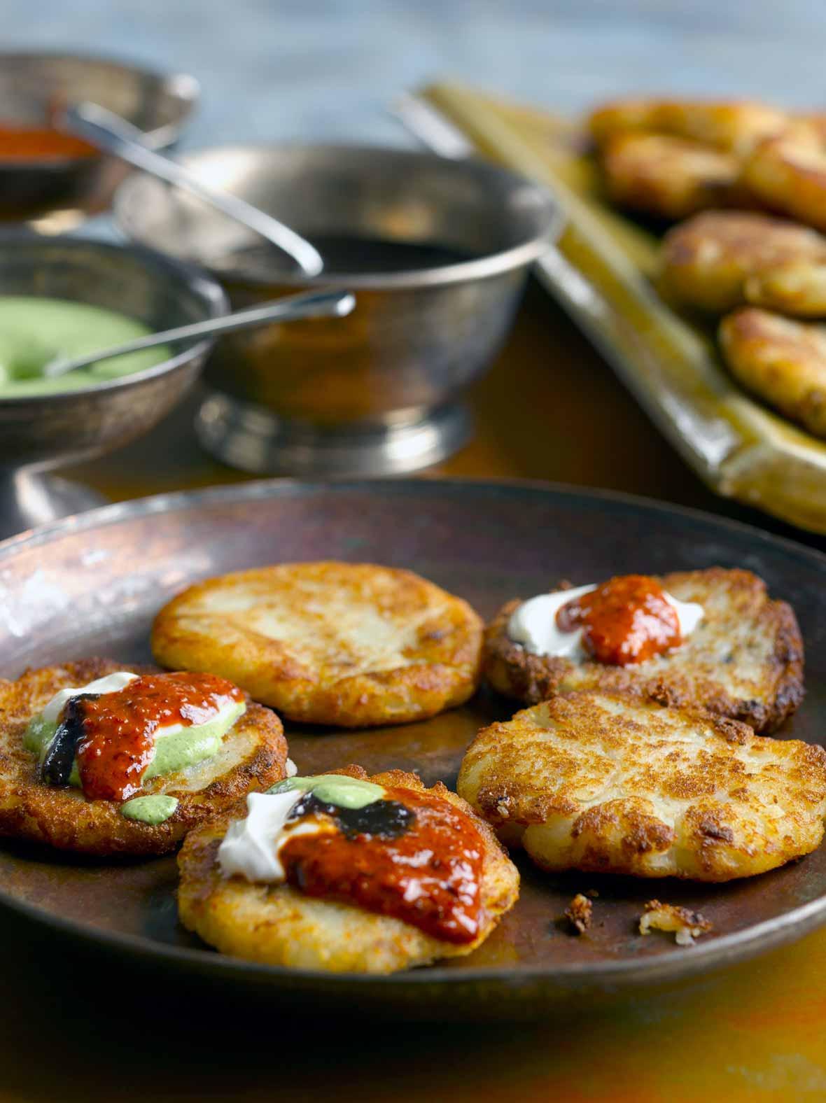 Indian Stuffed Potato Patties