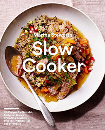 Buy the Martha Stewart's Slow Cooker cookbook