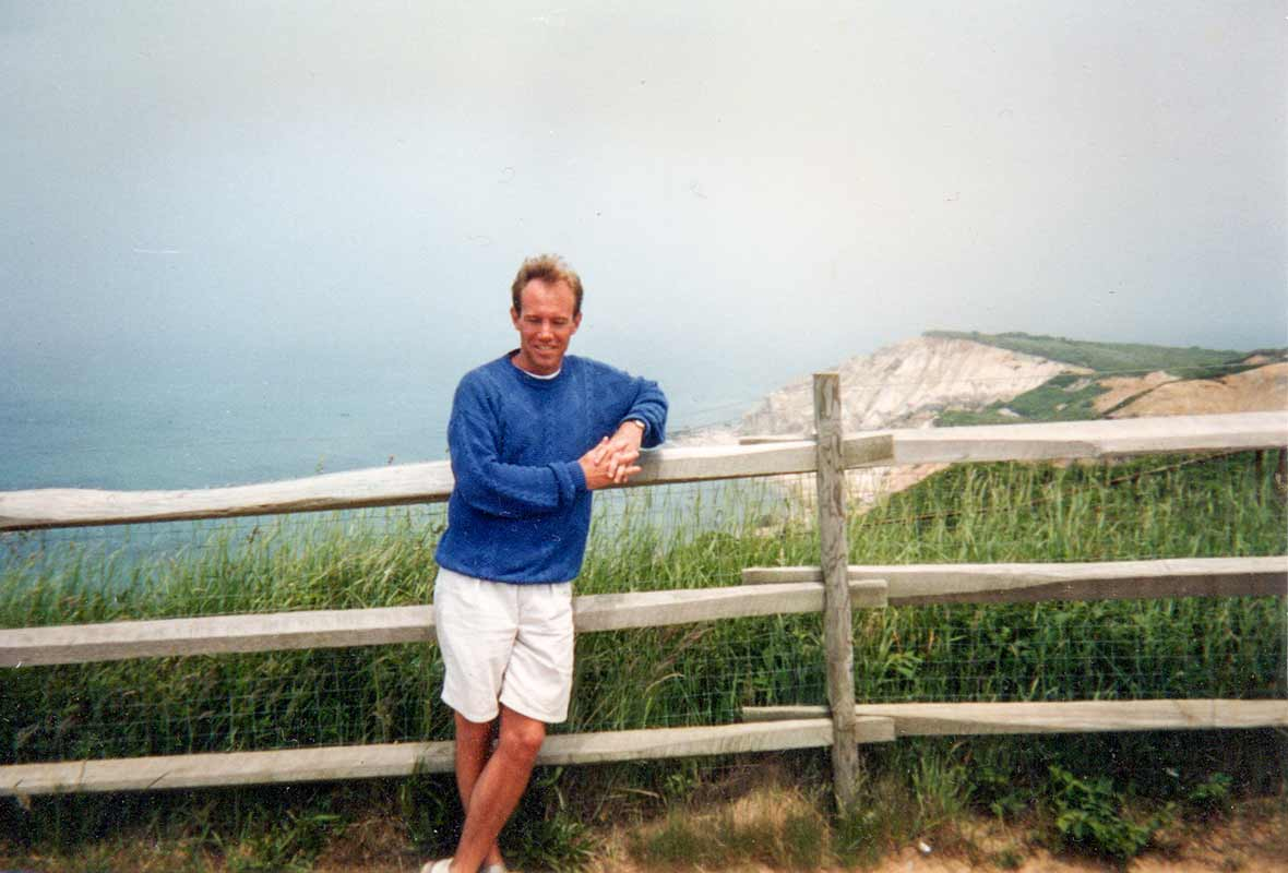 Alan on Martha's Vineyard