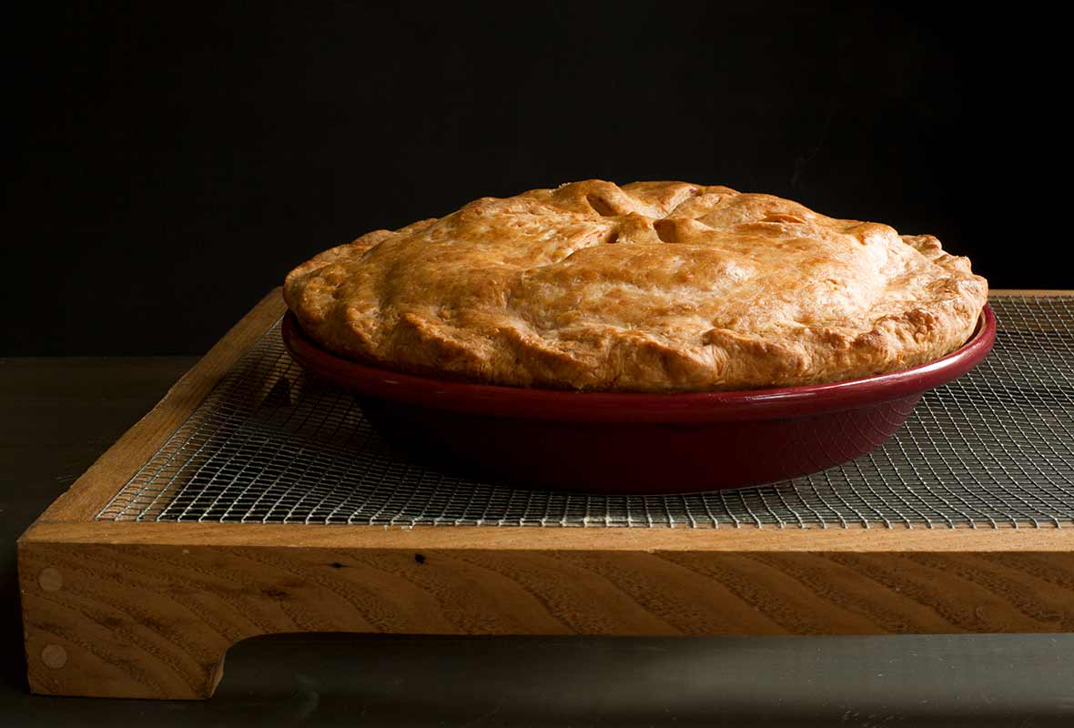Cheddar Crust Apple Pie Recipe