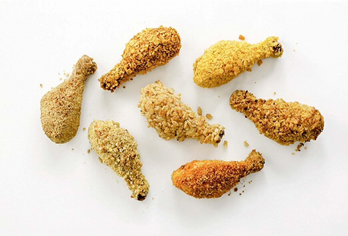 Crunchy Oven-Fried Drumsticks