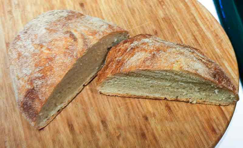 No-Knead Italian Bread