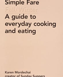 Simple Fare Fall/Winter Cookbook