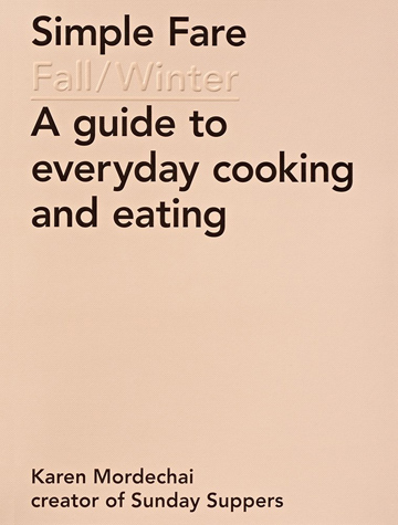 Buy the Simple Fare cookbook