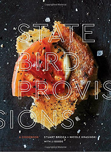 Buy the State Bird Provisions cookbook