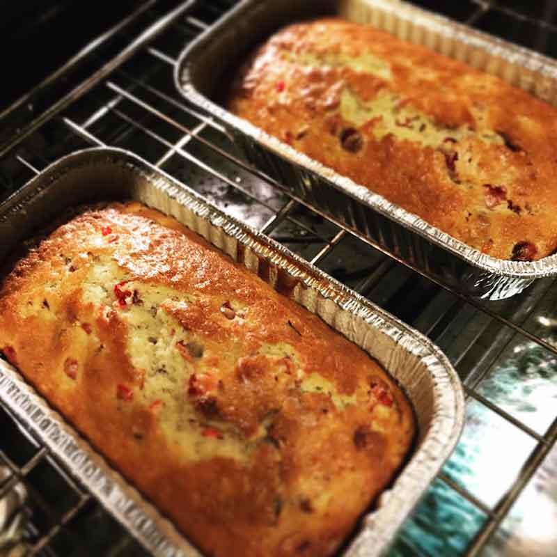 Cranberry Orange Pecan Cake