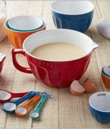 Mix and Measure Ceramic Bowl Set
