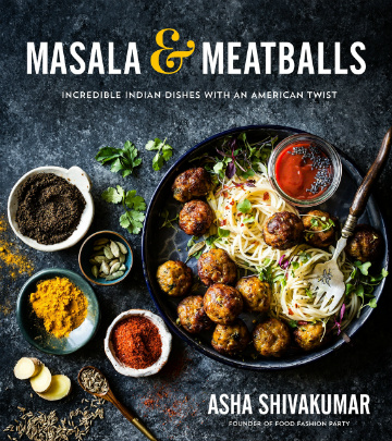 Buy the Masala & Meatballs cookbook