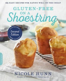 Gluten-Free on a Shoestring Cookbook