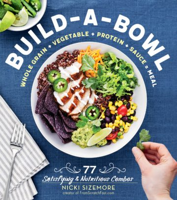 Buy the Build-a-Bowl cookbook