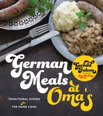 Buy the German Meals at Oma's cookbook
