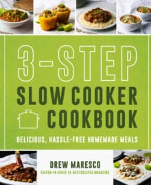 3-Step Slow Cooker Cookbook
