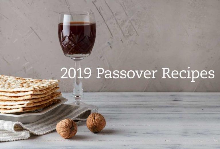 Passover Recipes 2019