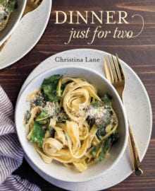 Dinner Just For Two Cookbook