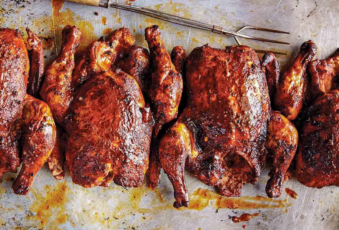 Texas Smoked Chicken Recipe Leite S Culinaria