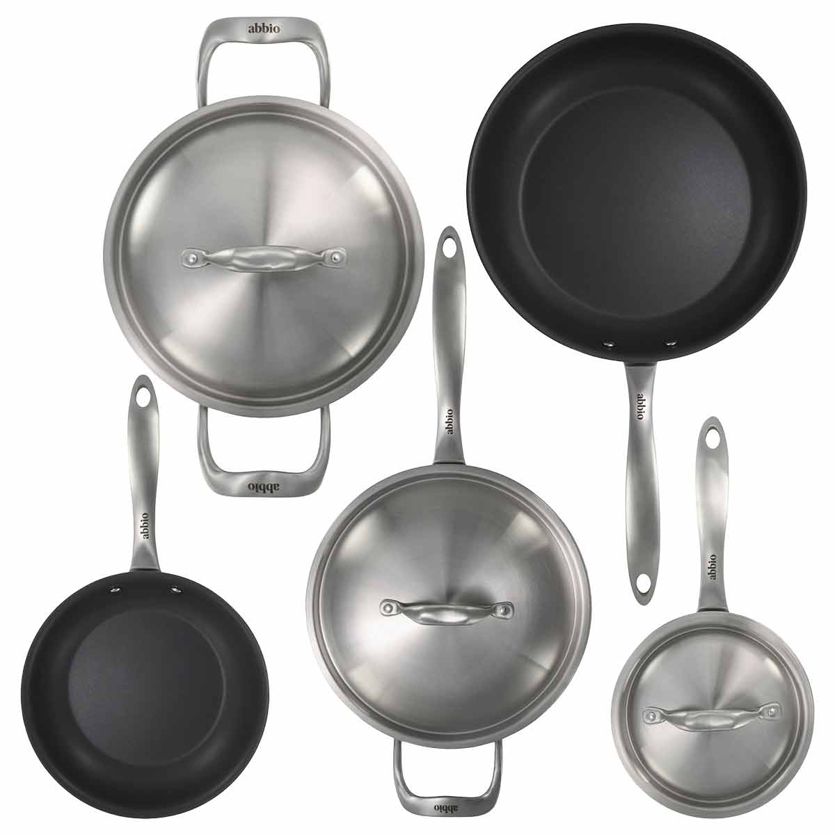 8-Piece Abbio Cookware Set