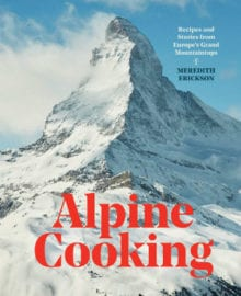 Alpine Cooking Cookbook