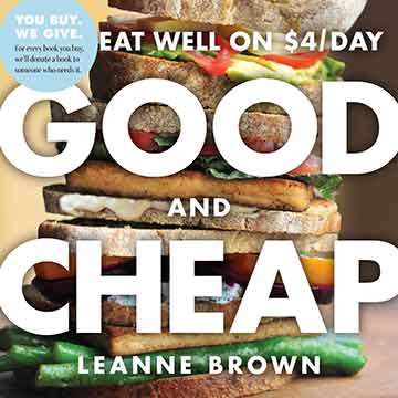Buy the Good and Cheap cookbook