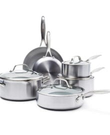 Greenpan 10 pc. Venice pro cookware set
