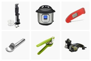 Six of our tester's fave kitchen tools.