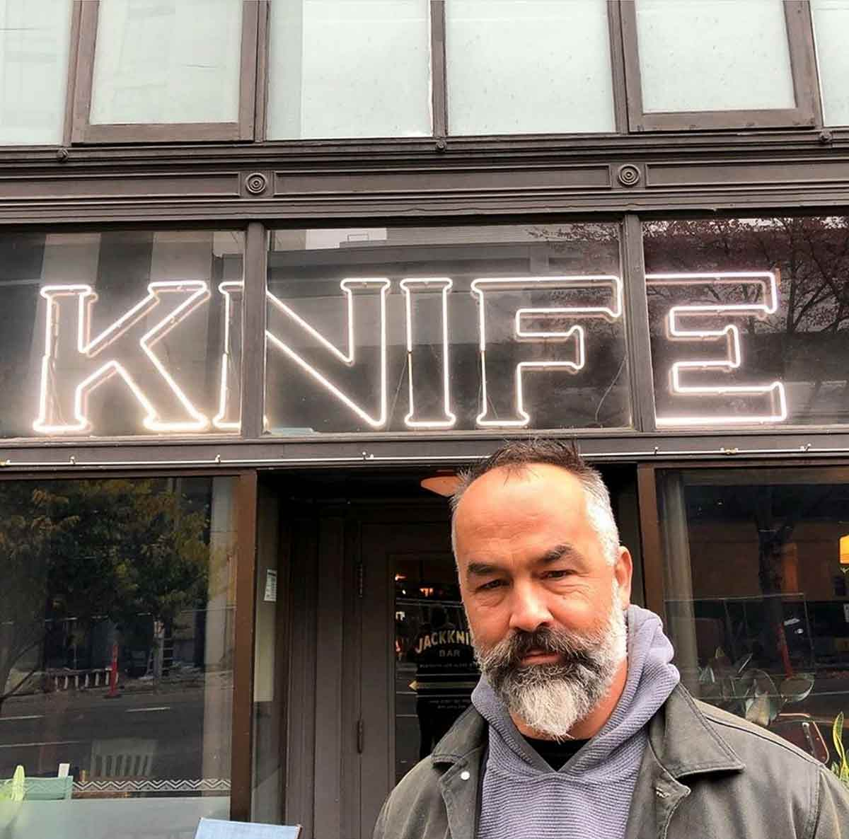 Jason Knight, Knife Maker/Bladesmith