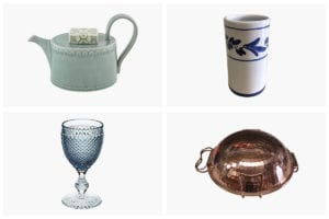 Four images of kitchen gifts from Portugal, with love.
